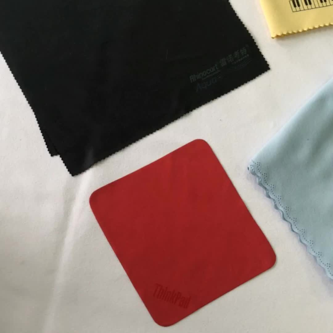 wholesale soft quick dry logo printed microfiber cleaning cloth