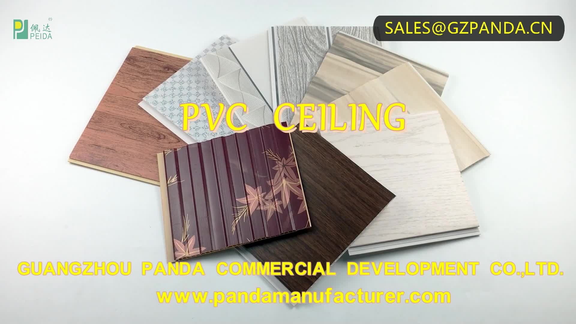 China Guangdong Foshan Laminated Philippines PVC Ceiling Panels Low Price