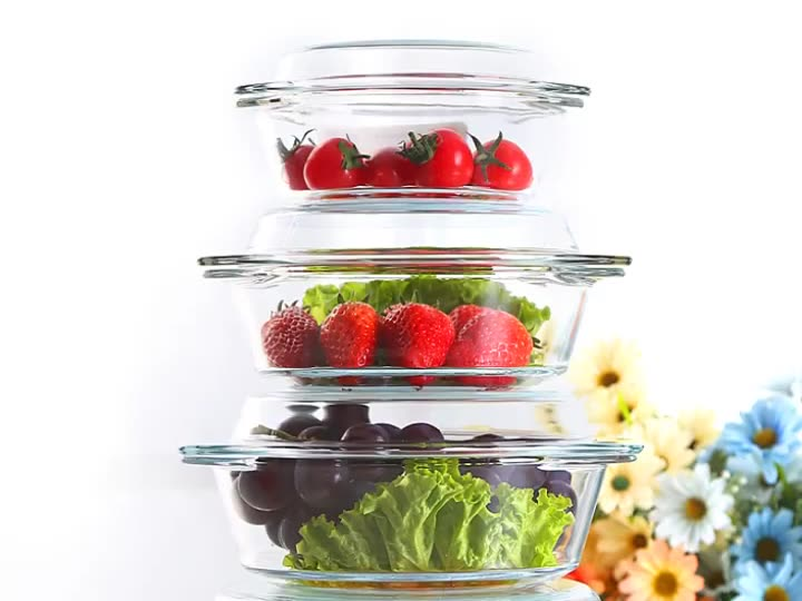 Wholesale Borosilicate glass bakeware