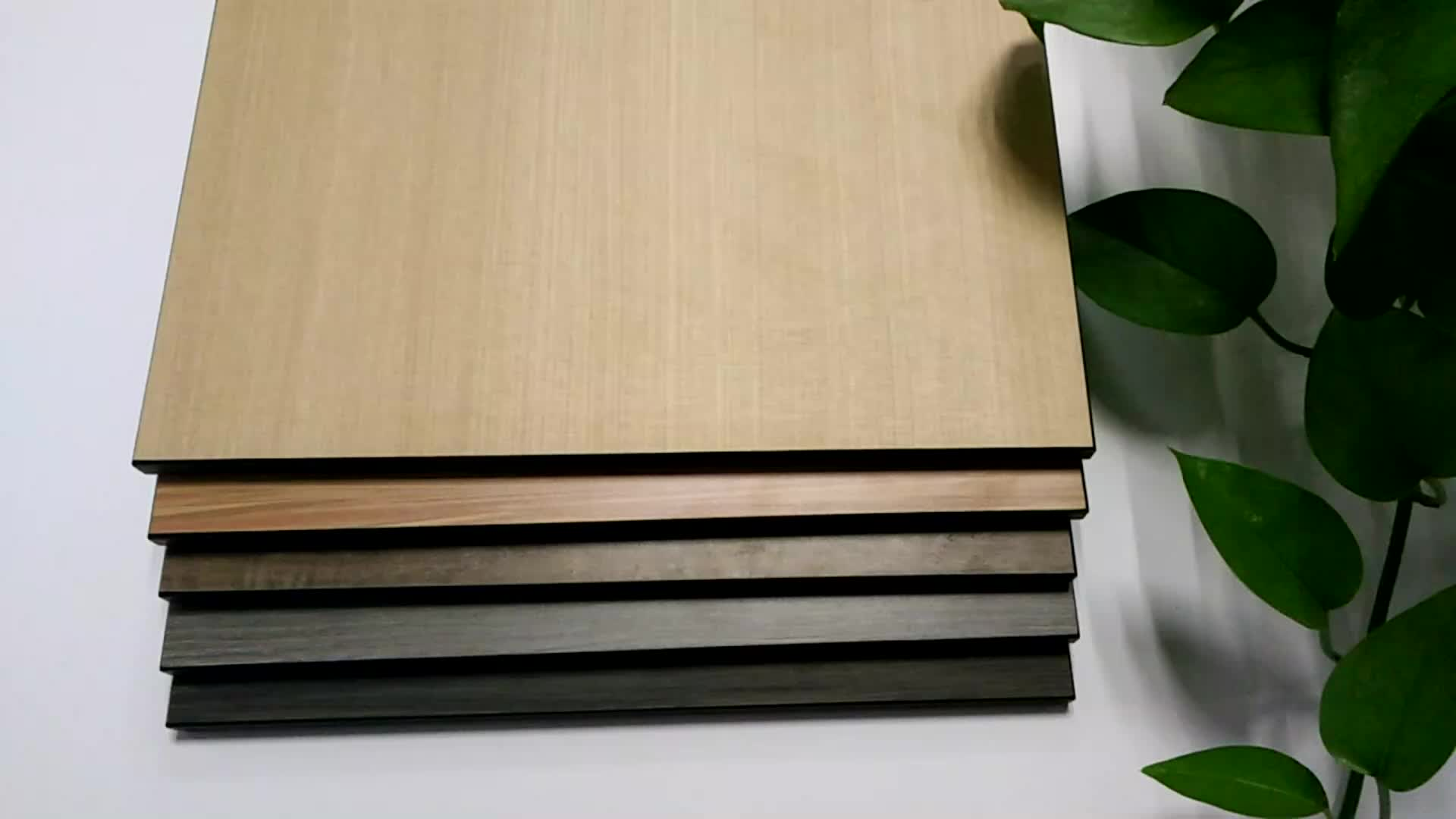 مكافحة الأشعة فوق البنفسجية الحرارة مقاومة hpl واجهات الجدار لوحات