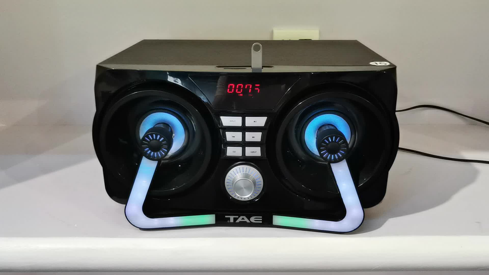 TS-1001 New Design Portable Speaker with USB/FM/SD card/BT/LED Display/Remote Control
