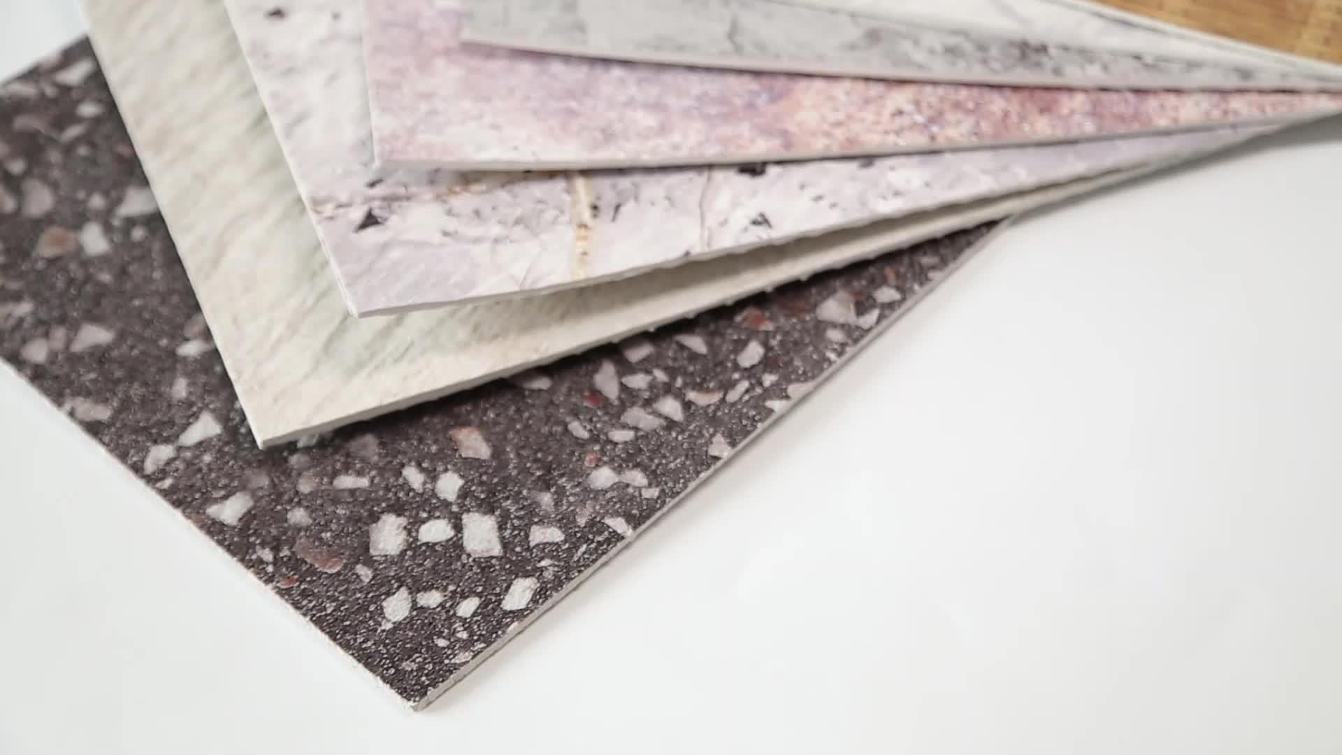 Nieuwe Tech Interieur Exterieur Flexibele Cultuur Stenen Muur Fineer