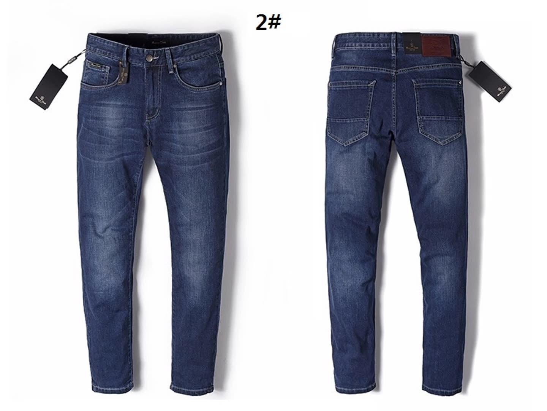 2019 nuevos pantalones vaqueros para hombres en colores sólidos pantalones vaqueros para hombres