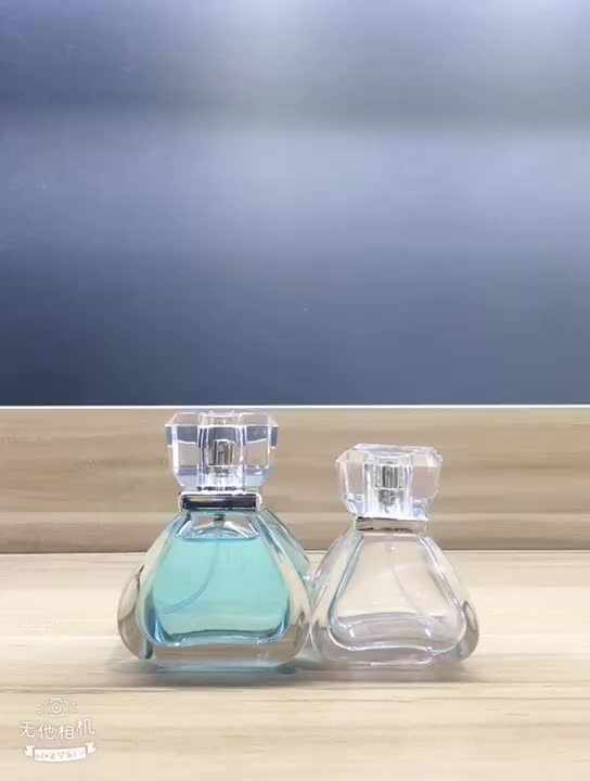 Manufacturers luxury design cosmetic perfume glass bottle with spray