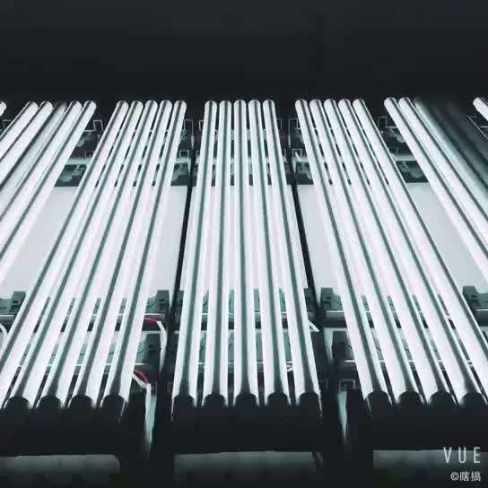 t8 8w pink glass led tube light for meat counter
