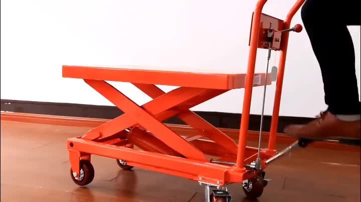 best seller good quality heami brand Hydraulic scissor lift table 300KG