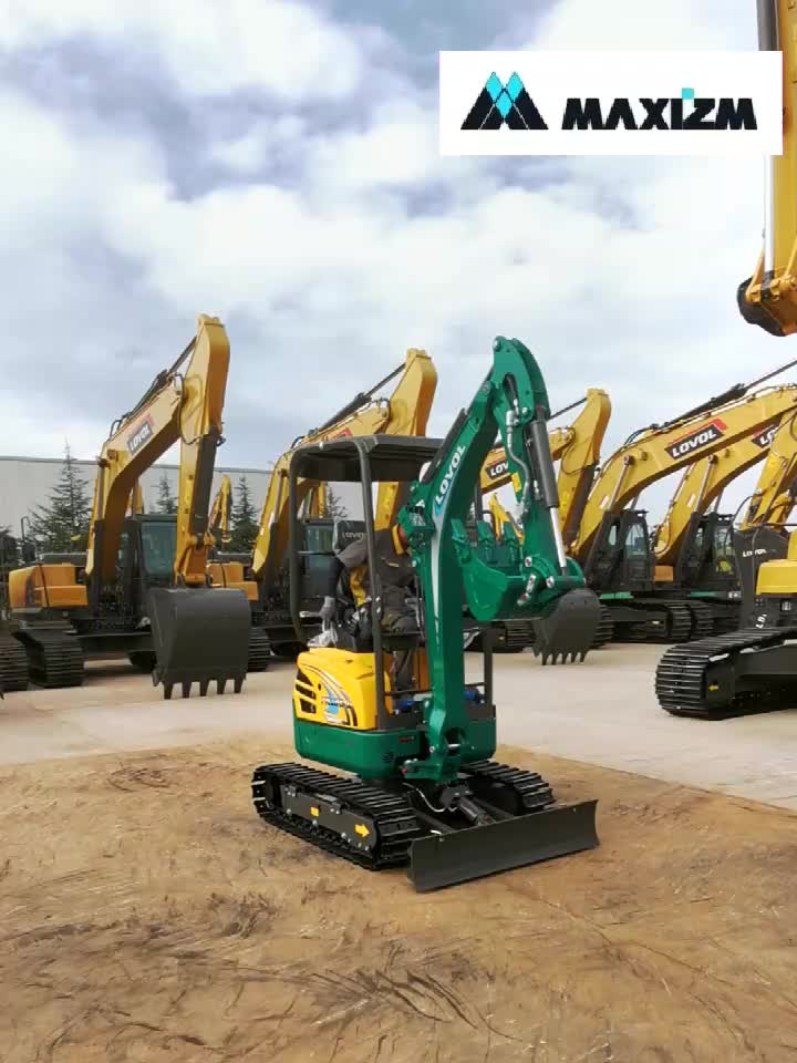 1,8 Ton Super Mini Lovol excavadora FR18E-u para venta