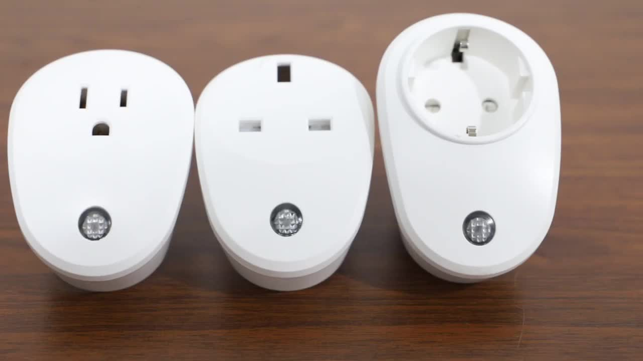 Energy monitor wall wi fi socket wifi smart plug outlet