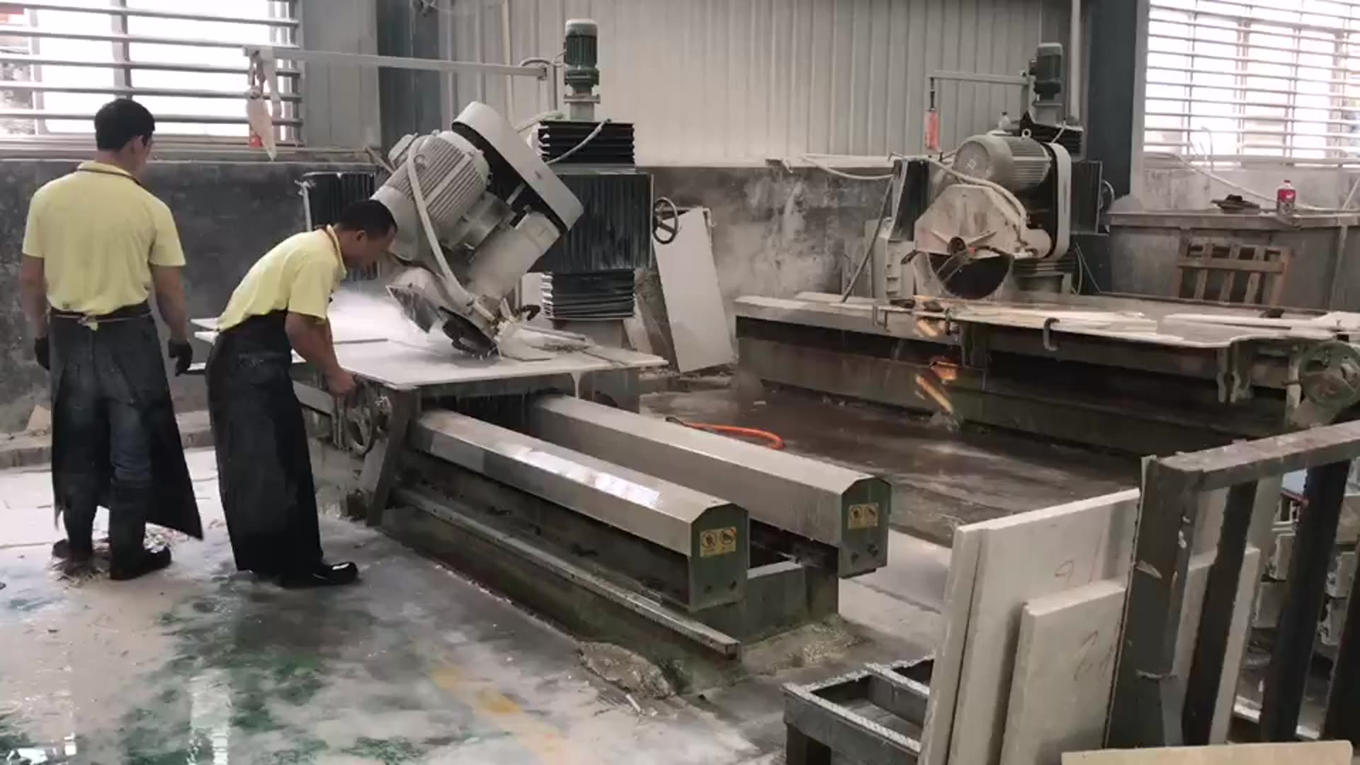 granite machine countertop gemstone stone cutting machine price manual edge cutter thin stone trimming cutting machine