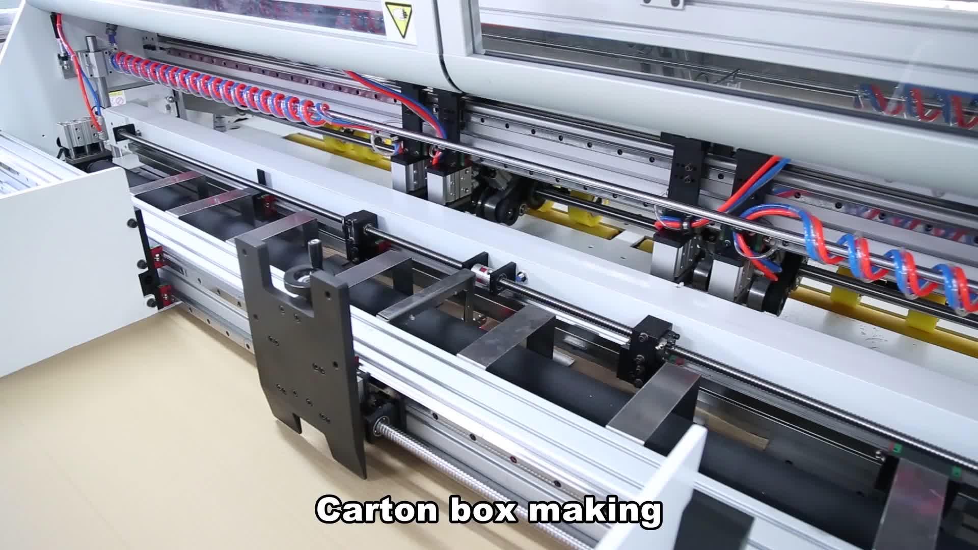 Making machine voor pizza box/schoenendoos making machine