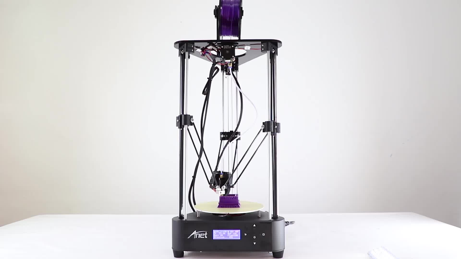 New Design anet a4 high accuracy desktop metal frame 3d printer for education