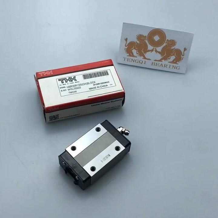 HSR20R Japan THK HSR20 lineaire slide geleiderail blok lager HSR20R1SS voor CNC in promotie