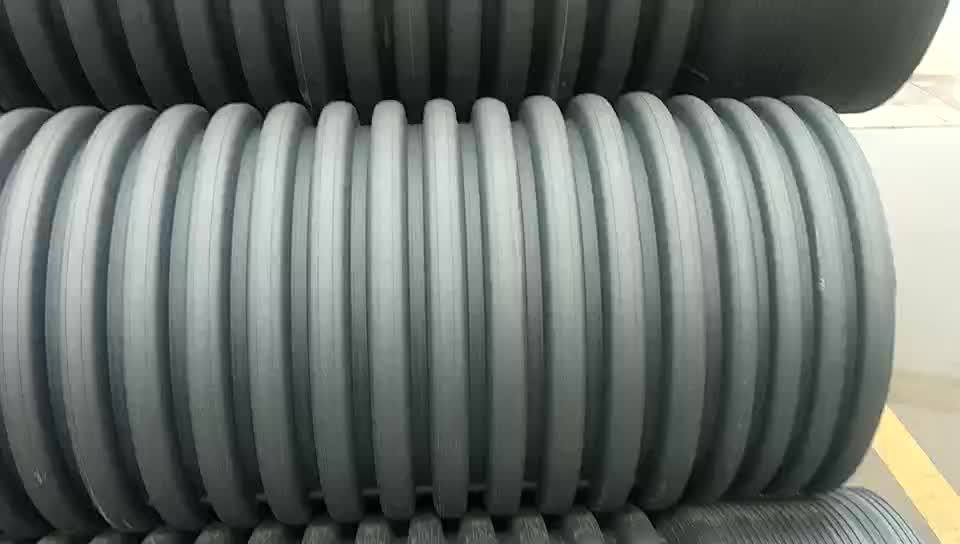 DN600mm DWC Corrugated HDPE PIPE