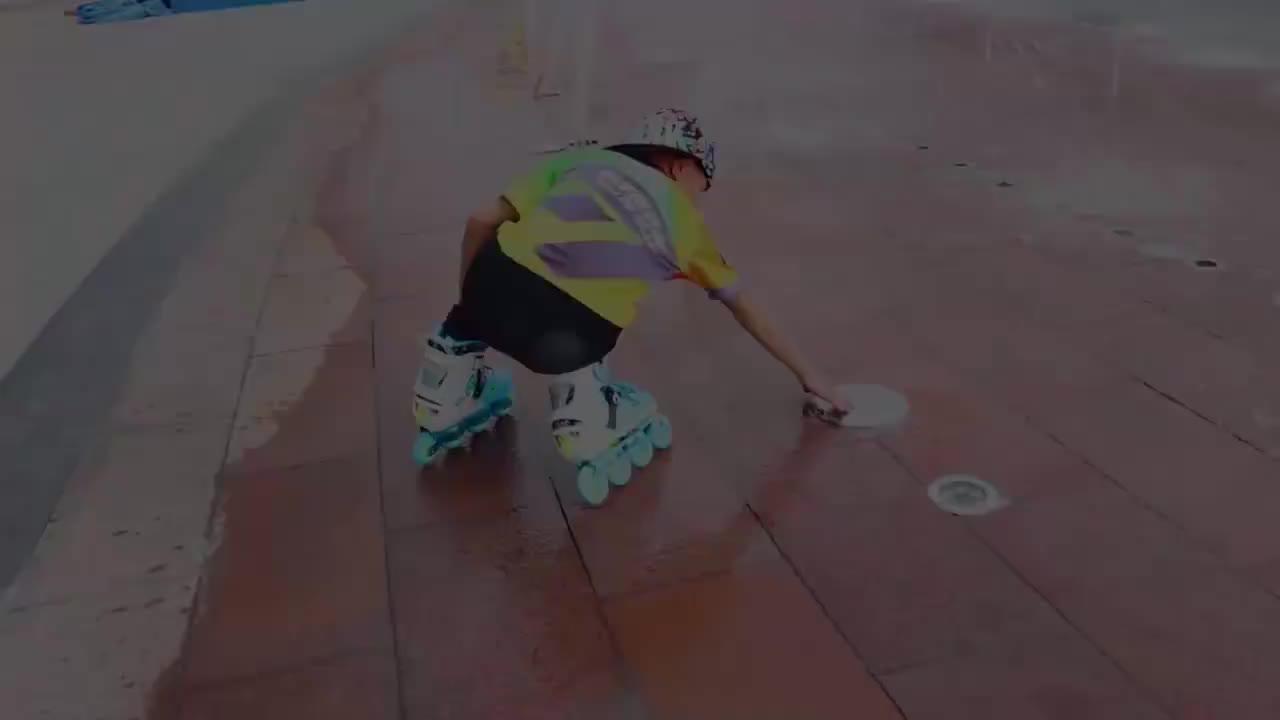 Gosome colorati outdoor inline scarpe da skate roller blade con lampada della luce del flash per le ragazze e bambini