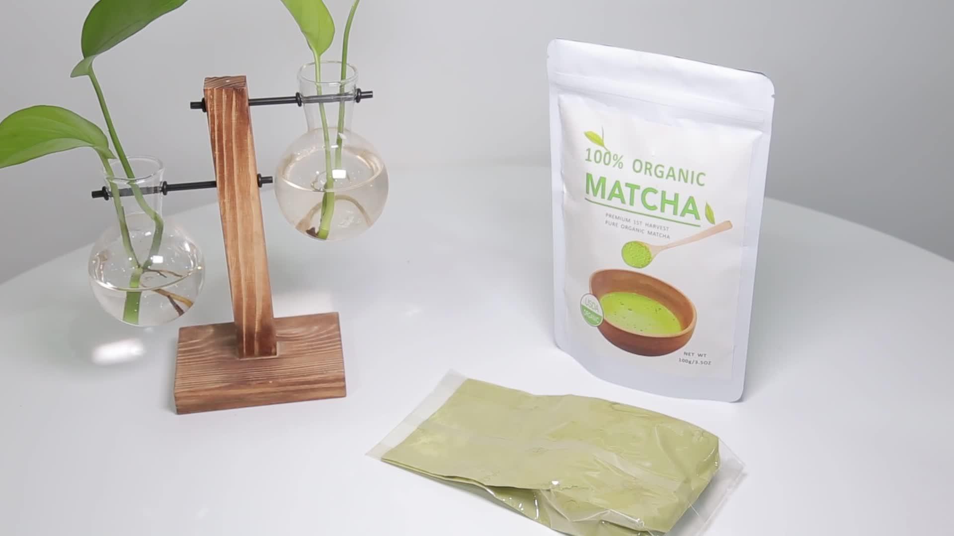 Té Verde Matcha de grado alimenticio japonés de la mejor calidad, té Matcha orgánico