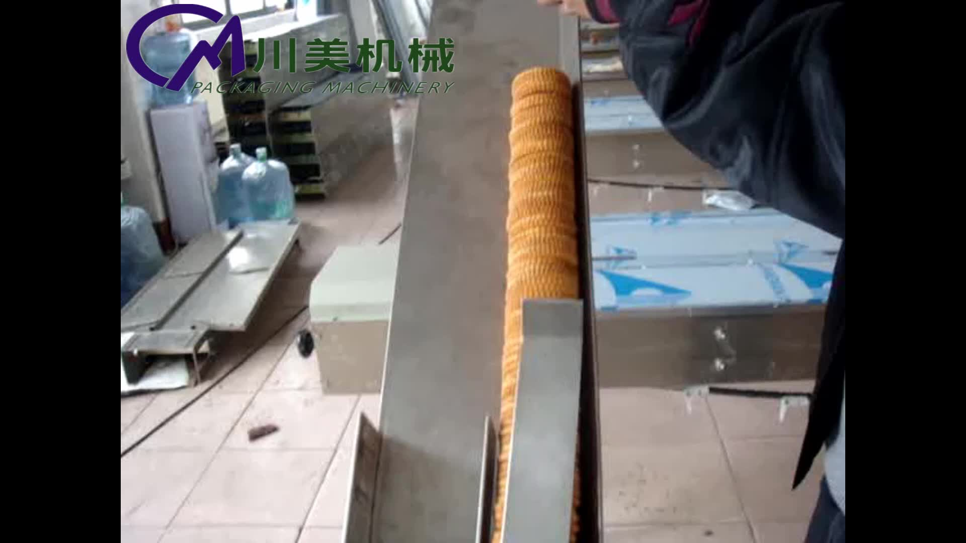 Poşet çerezler bisküvi kraker üç tarafı yastık paketleme makinesi ucuz fiyat