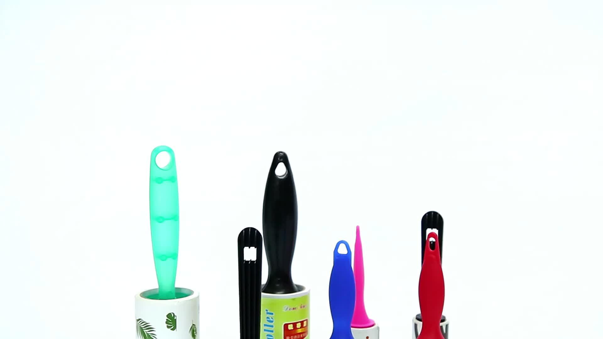 Ampliamente uso del animal doméstico del pelo rodillo de pelusa removedor de limpieza de la casa