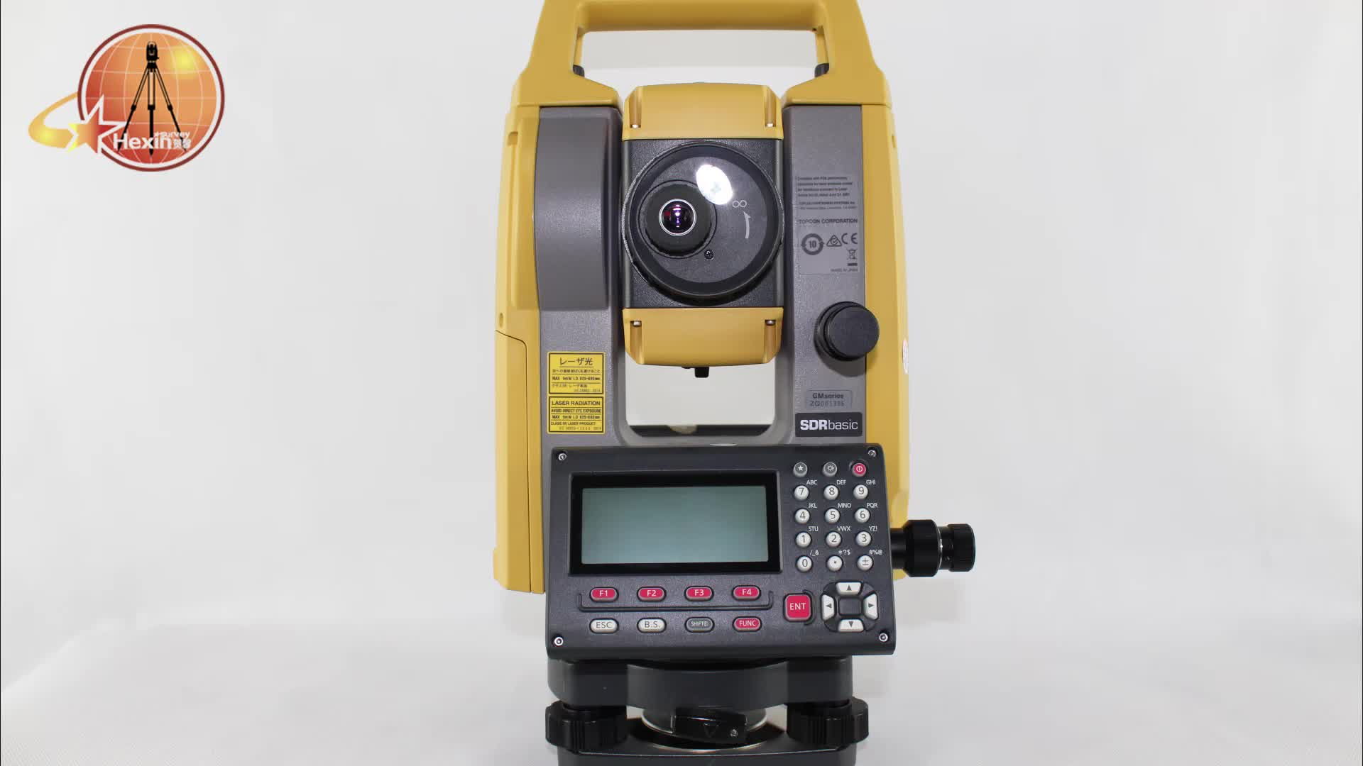 High quality Topcon  GM - 105 total station prism pole with Bright Illumination Key for Nighttime Work