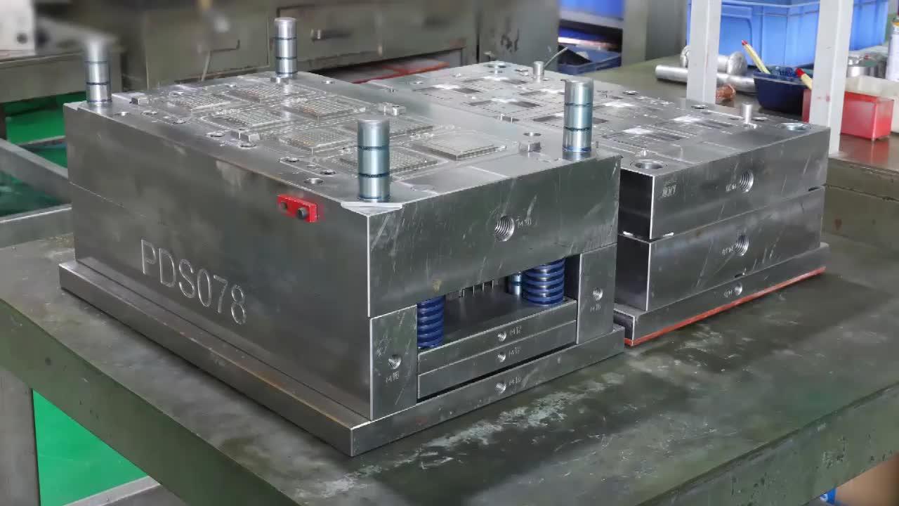 יצרנית דפוס מוטה פונקצית חשמל ללא בורג קיר מתג שקע כיסוי פלסטיק הזרקת עובש כלי