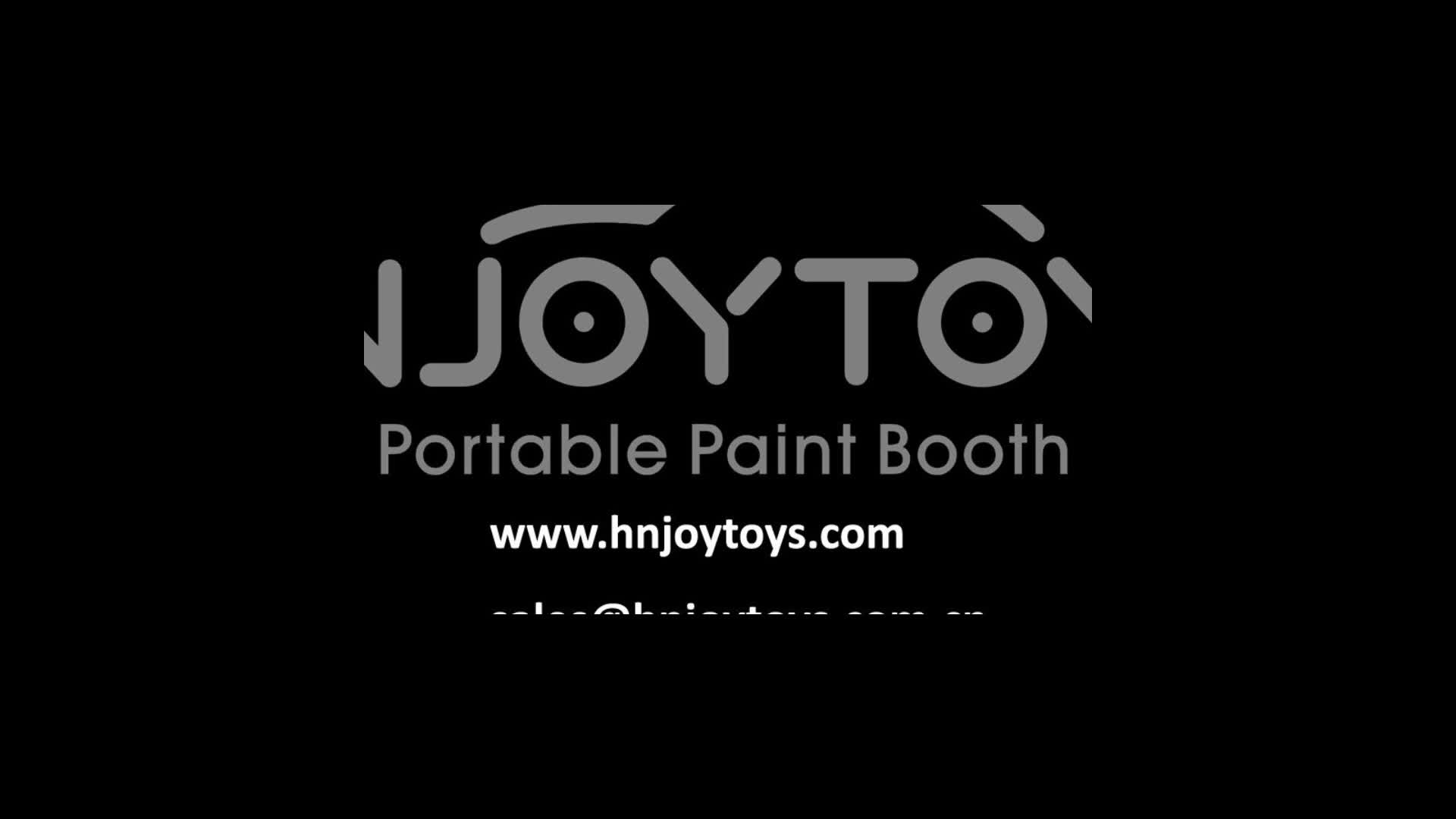 Door to Door Free shipping EPA 6H Certified Portable Mobile Durable Inflatable Paint Booth Tent Cabin For Sale 26x13x10ft