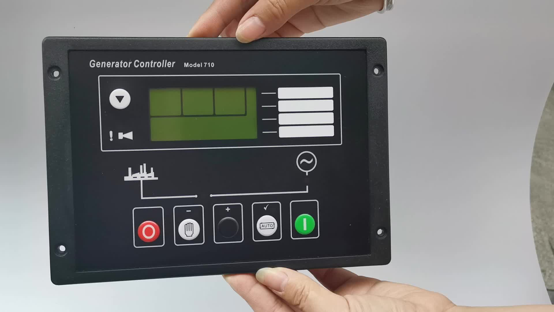 Genset Auto Start Automatic Controller 710