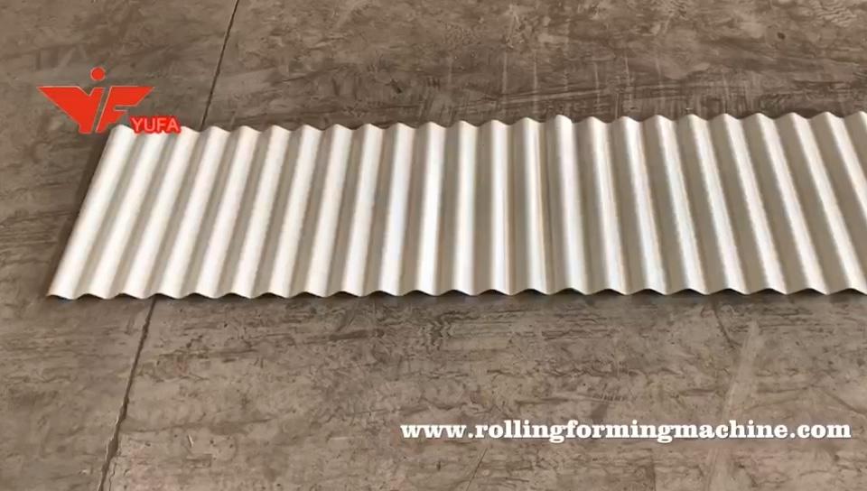 836 Hochgeschwindigkeits-Metall-Wellblech-Dachziegel-Walzen form maschine