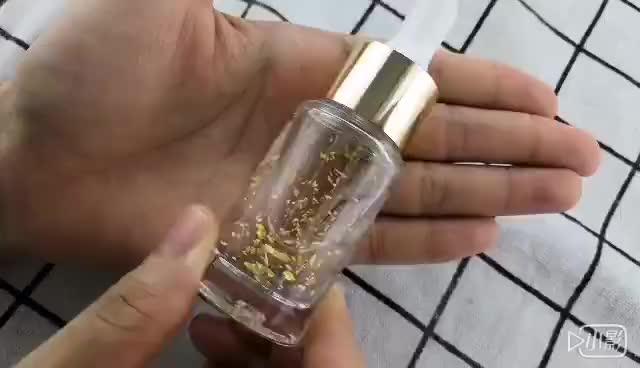 New Arrival Korea Pure 24 Gold Serum Private Label Skin Care 24K Gold Rose Gold Anti-Aging Eye Face Collagen Serum