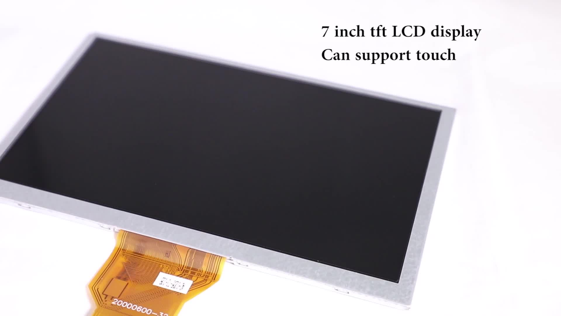 50 Pin 7 Inch 800X480 RoHS Color TFT LCD Display Module