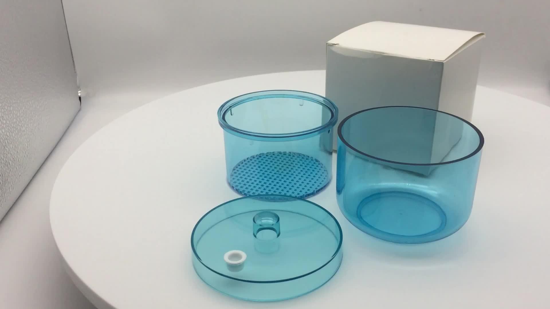 치과 버 홀더 청소기/치과 잠기기 소독 컵