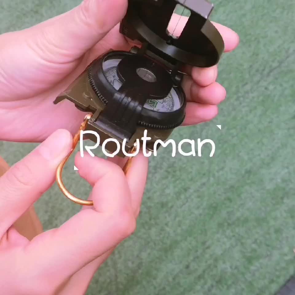 RO-20 ROUTMAN Hoge Kwaliteit Outdoor Metalen Custom Militaire Kompas