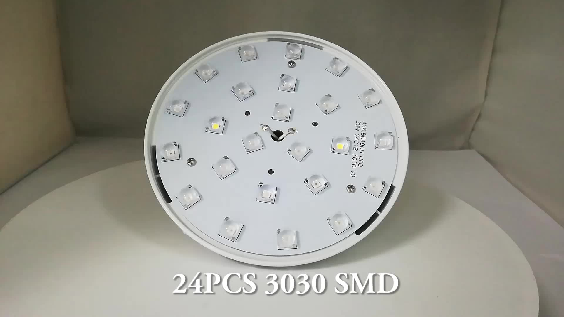 New design led UFO plant grow light IP 65 waterproof 60W led grow light for plant aluminum housing E27 light