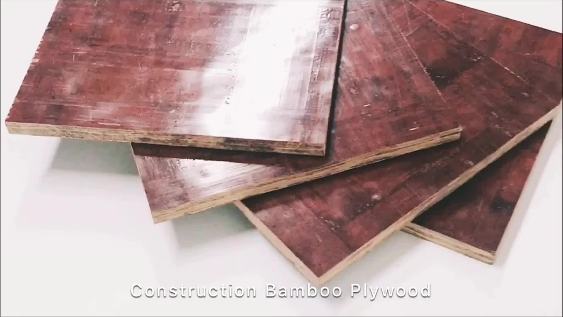 concrete form 4x8 18mm bamboo plywood wood sheet
