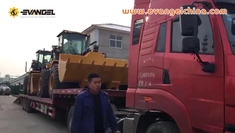 XCMG 3ton wheel loader with front wheel drive for Iraq market LW300FN
