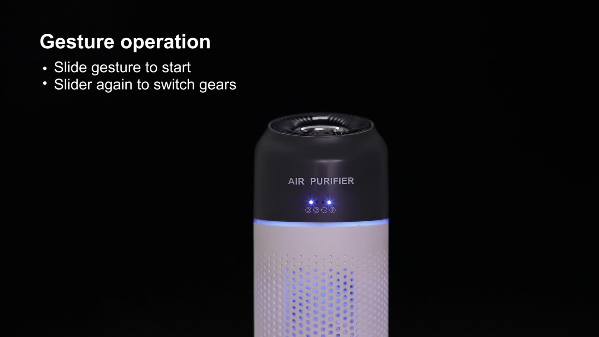 Nuevo usb mini portátil de Oficina Casa coche inteligente purificador de aire