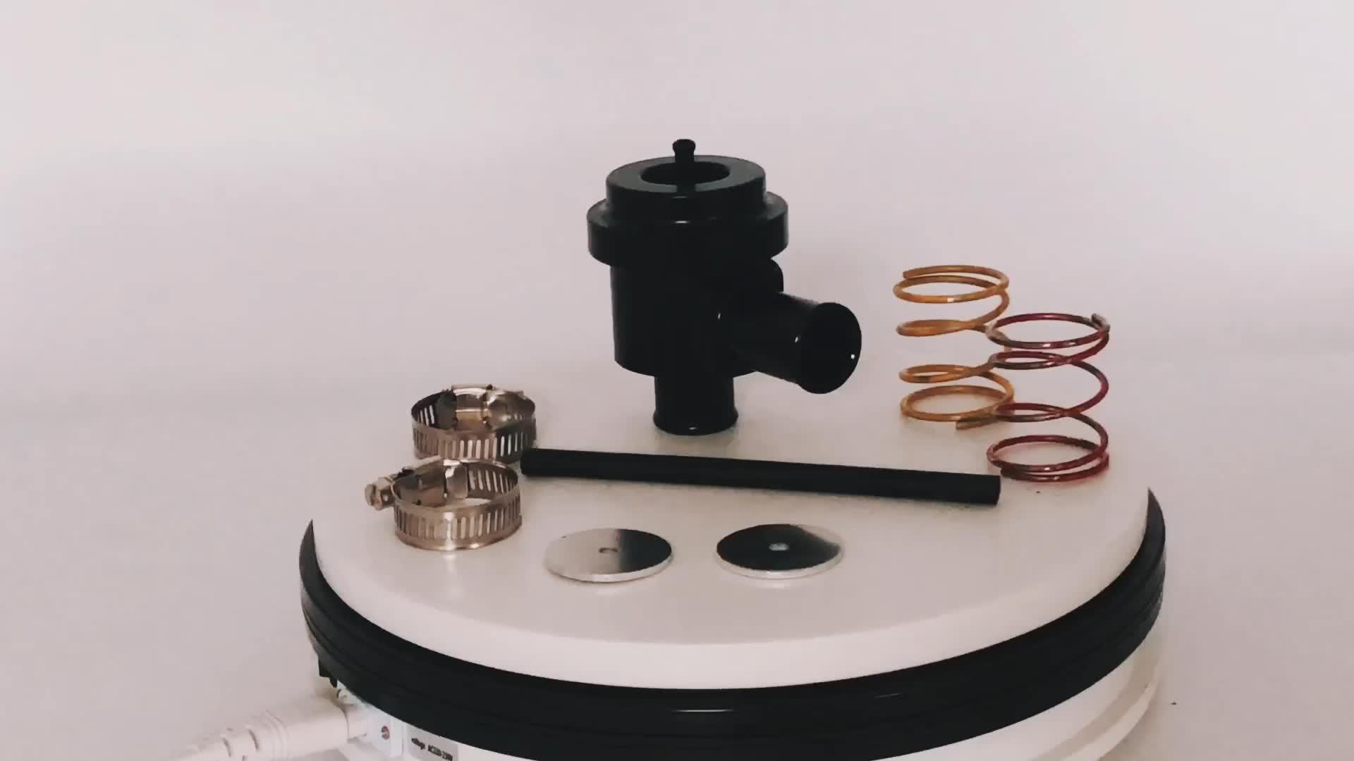 Auto Racing Động Cơ thổi tắt van 25mm turbo bov phiên dump van BOV-007-BK