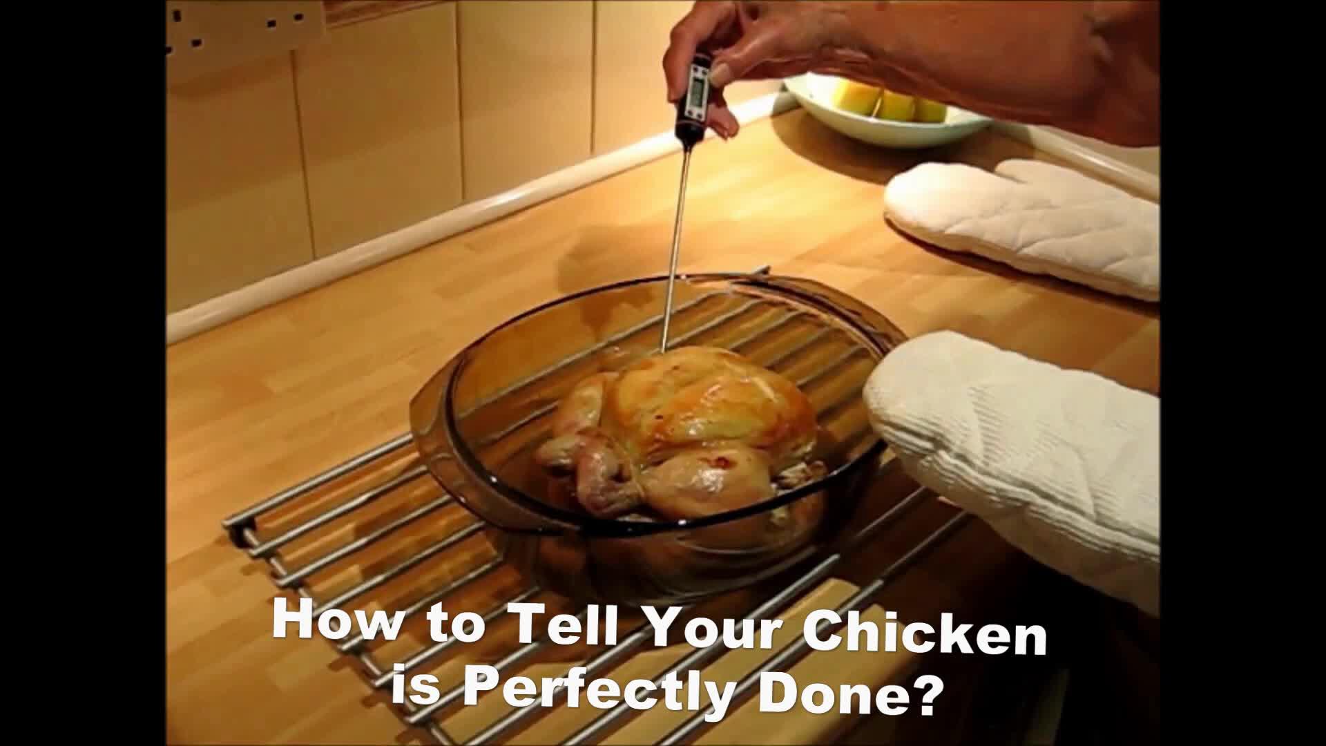 CE प्रमाणीकरण खाद्य थर्मामीटर लक्ष्य रसोई में खाना पकाने थर्मामीटर