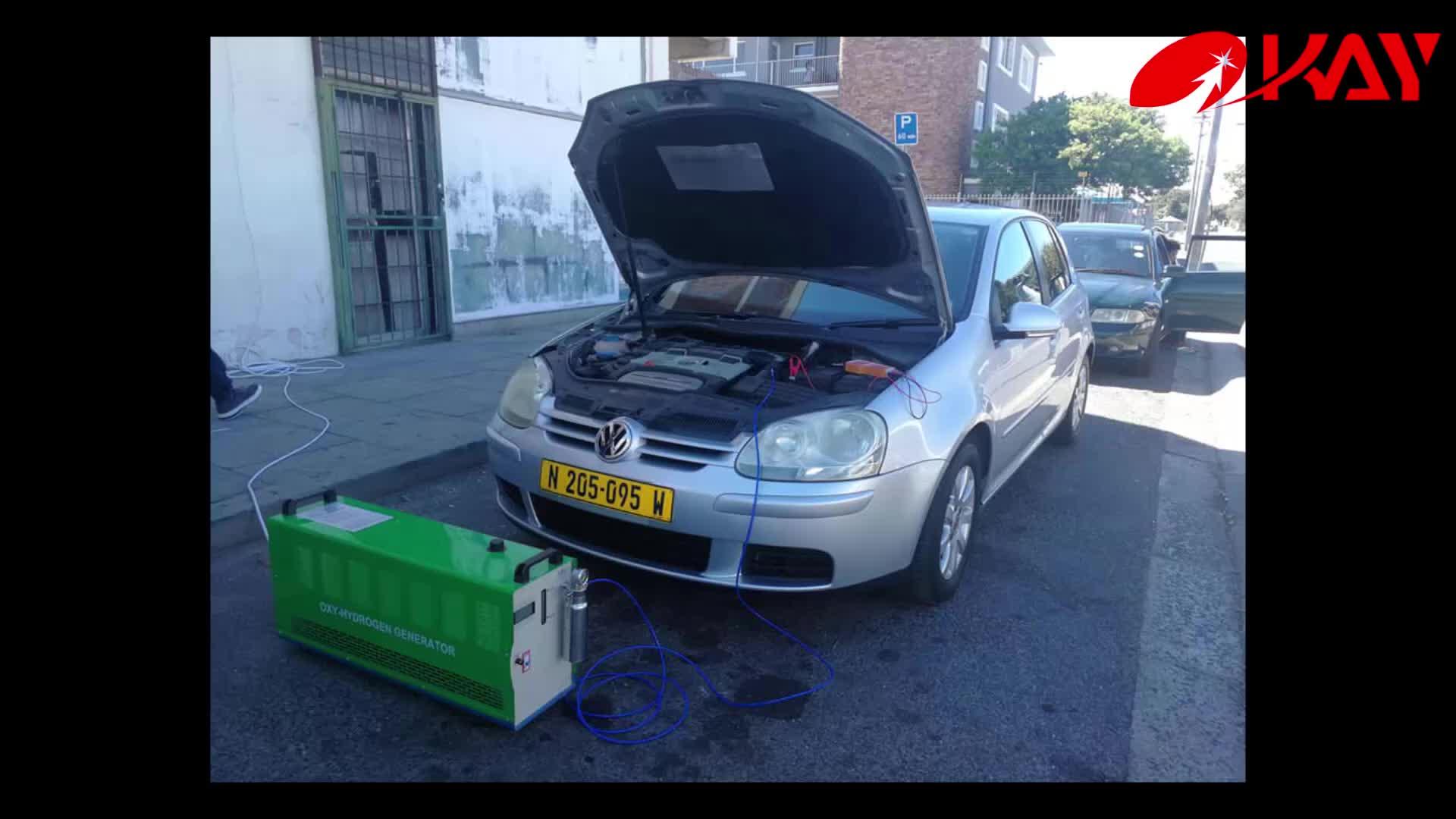 Tork artışı motosiklet araba hho motor karbon temizleme sistemi