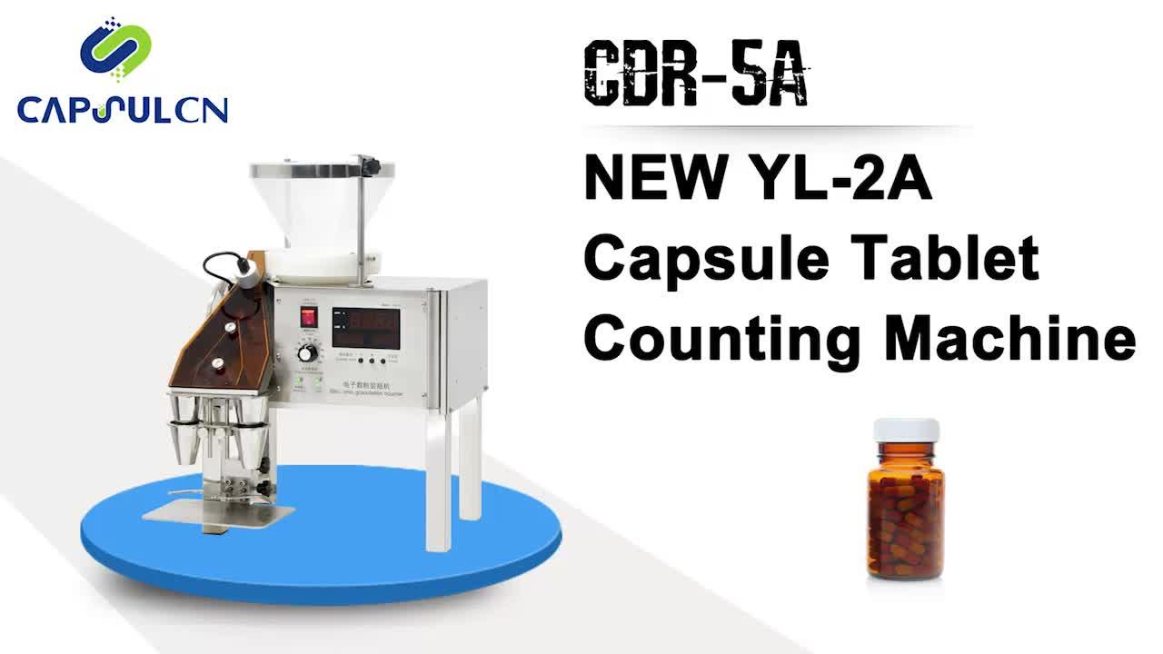 (YL-2A) CDR-5 Kapsül Tablet Sayma Makinesi
