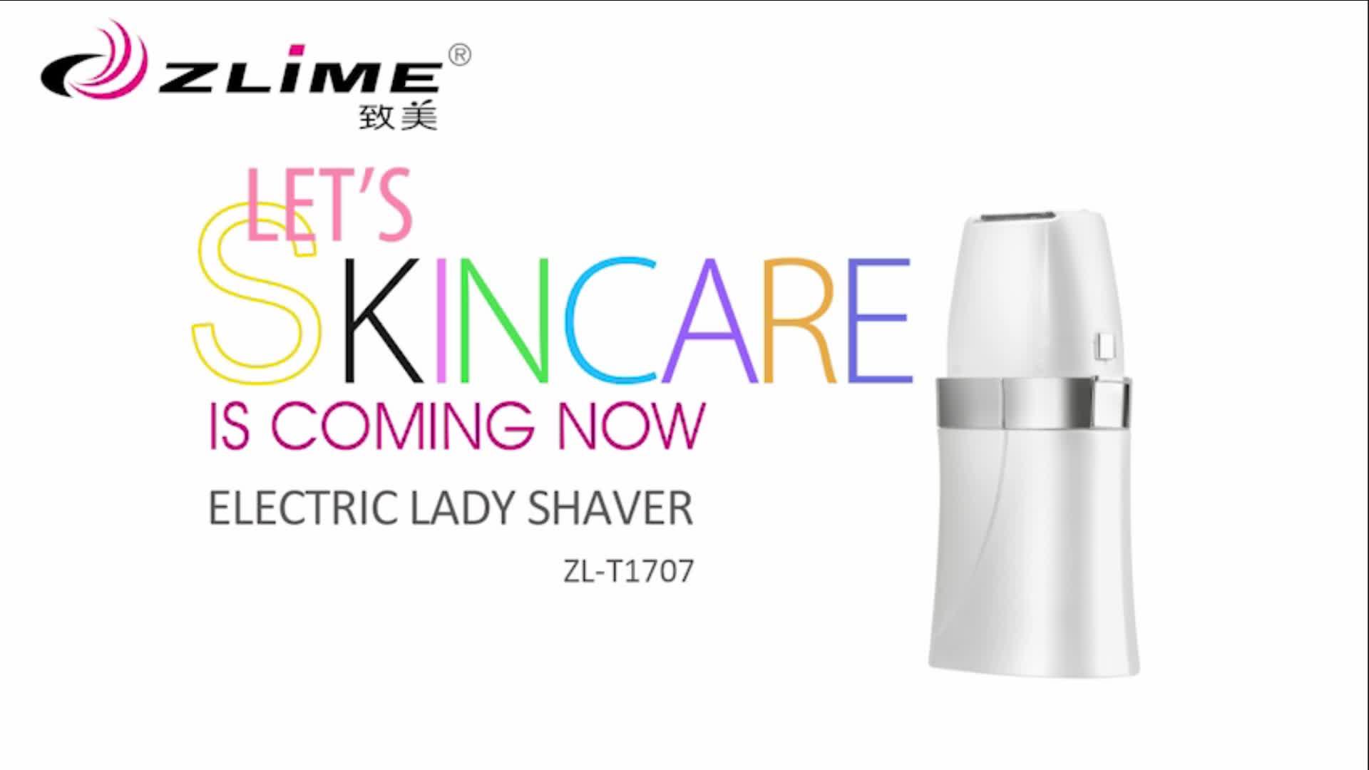 Batterie Betrieben elektrische bikini haarentferner trimmer rasierer für dame trimmer elektrische