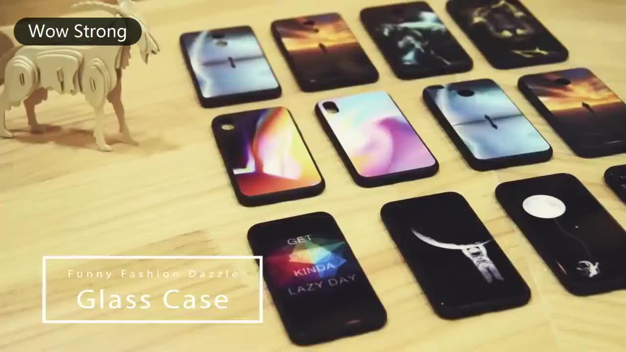 For iPhone XS Case Extreme Slim Luxury 9H Hardness Tempered Glass Back Cover XR Case for iPhone