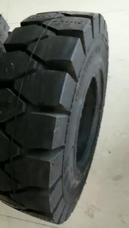 600-9,7.00-12 solid forklift tire