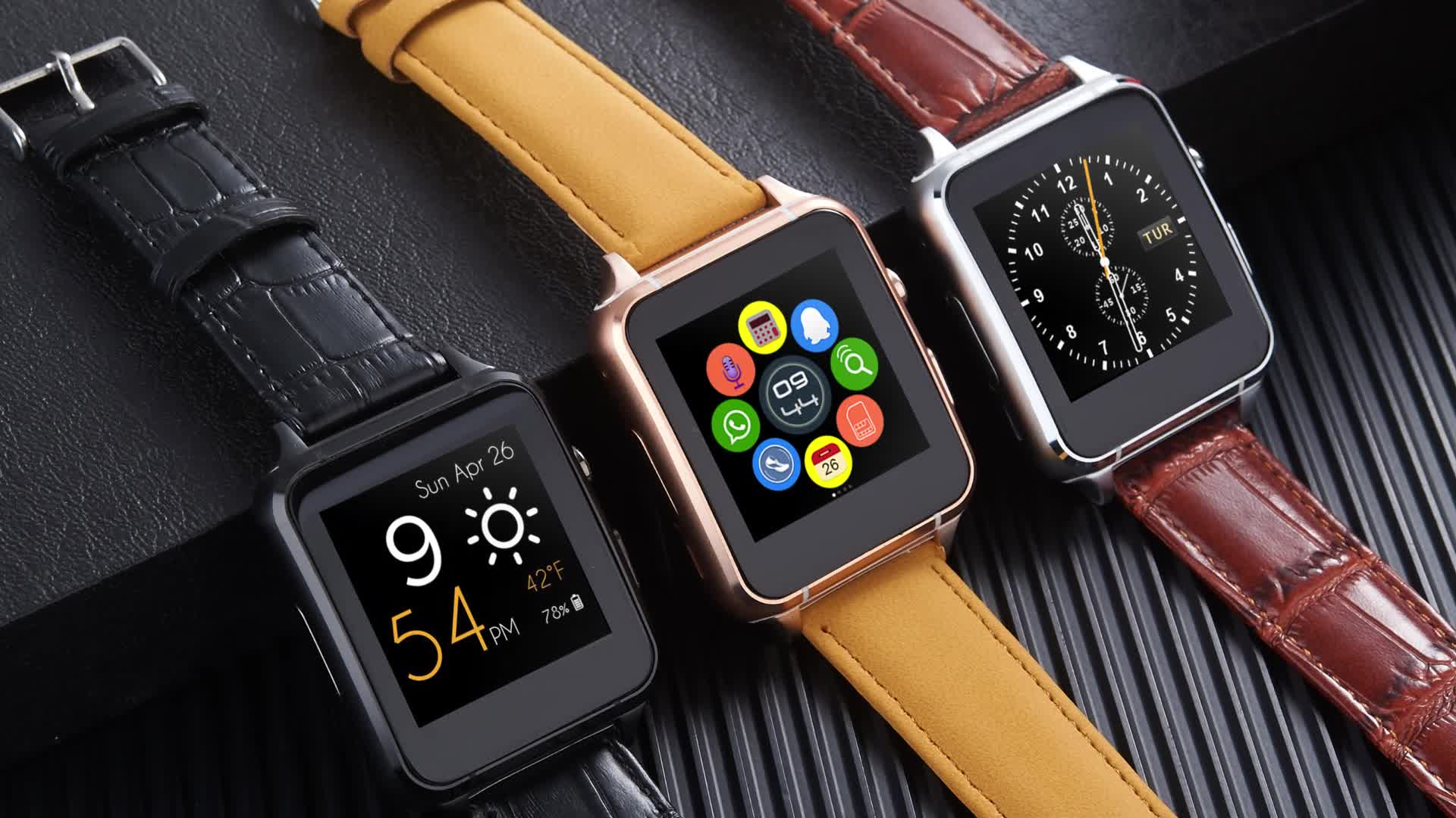 smart watch 2017 With Camera WristWatch SIM Card Smartwatch For Ios Android Phones X7