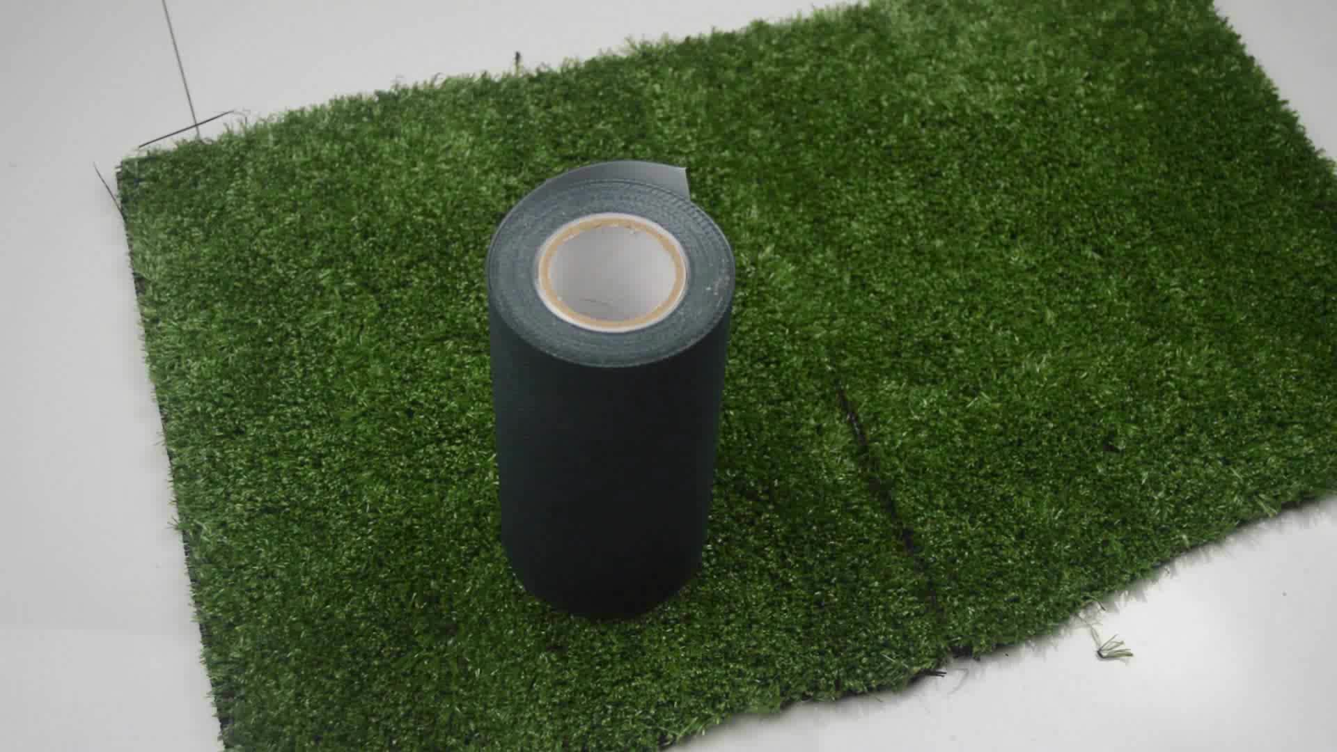 Mini football field garden synthetic turf Non woven fabric self adhesive artificial grass joining tape indoor and outdoor