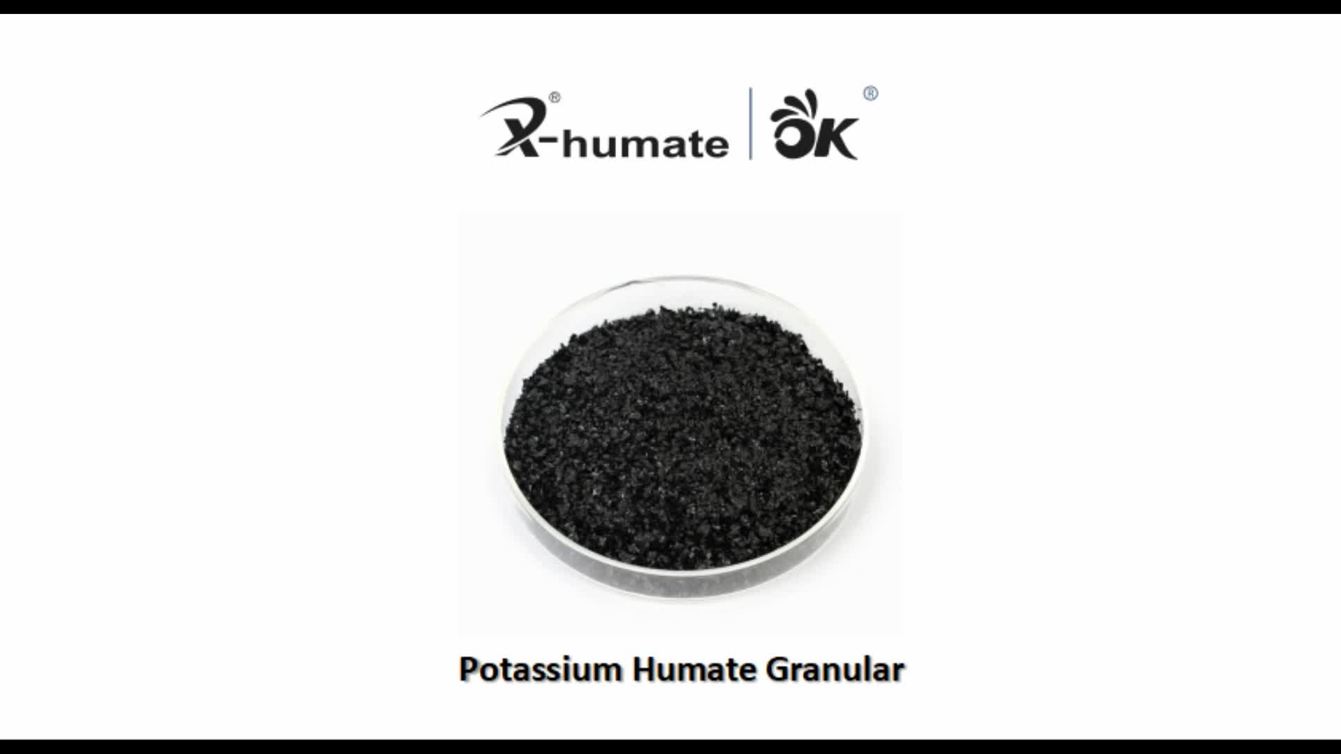Fine grade potassium humate for organic fertilizer use Humic acid liquid