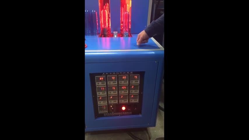 COSTAR Marke Pet Semiautomatische Blasmaschine für Pet Preform