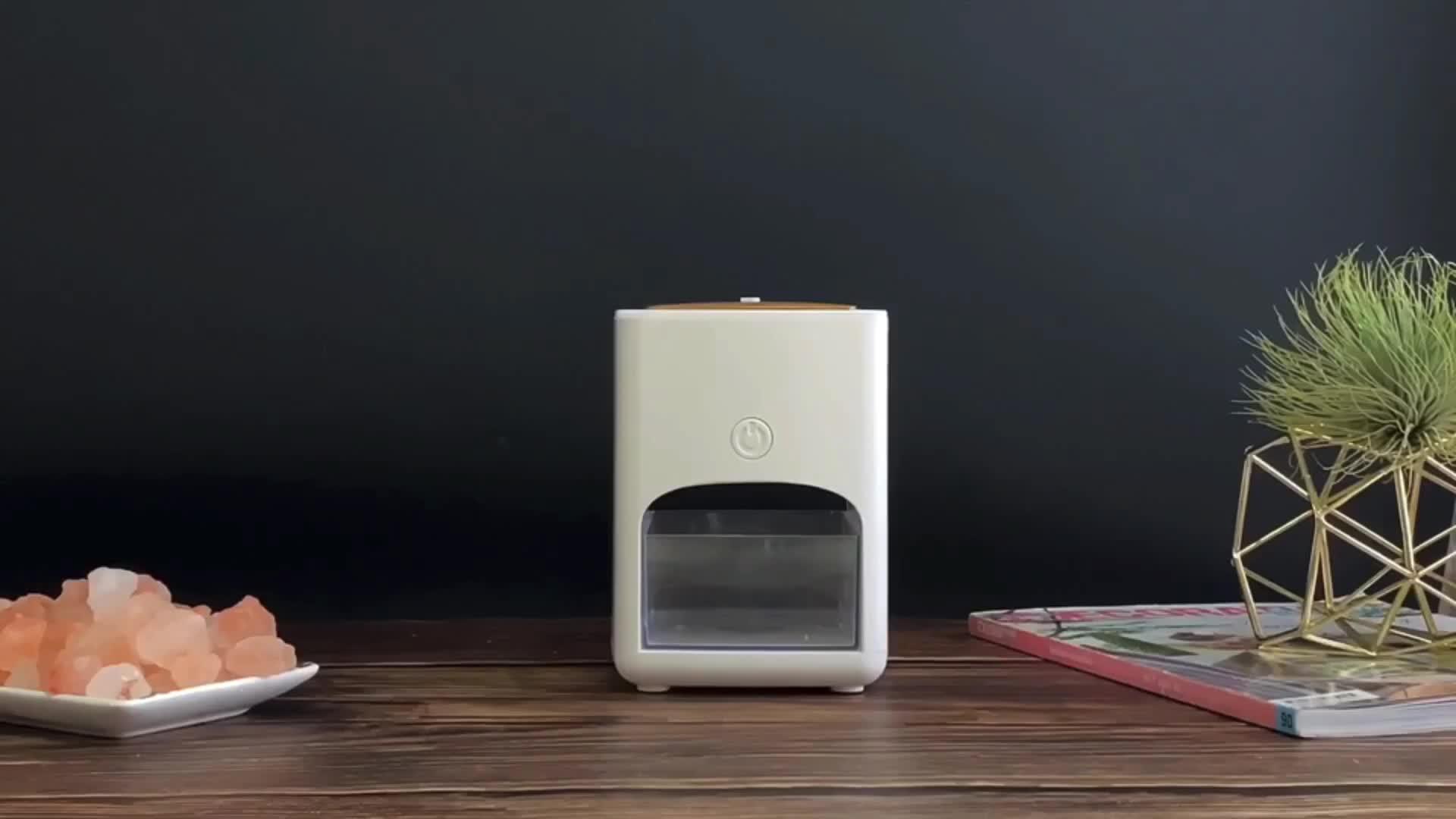 Venta caliente 2 en 1 lámpara de sal del Himalaya y 150ml 7 colores LED Luz de aceite esencial ultrasónico difusor de Aroma