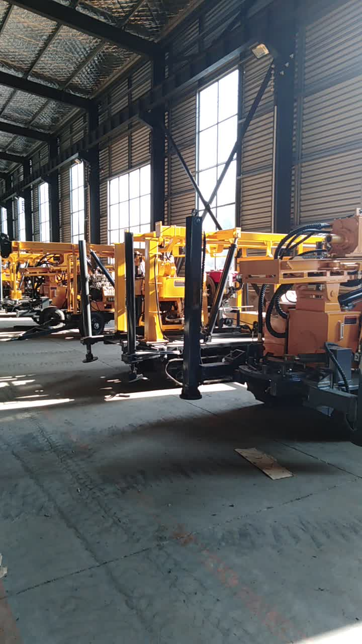 XYX-3water well drill rig,YK cable tool drilling rig,