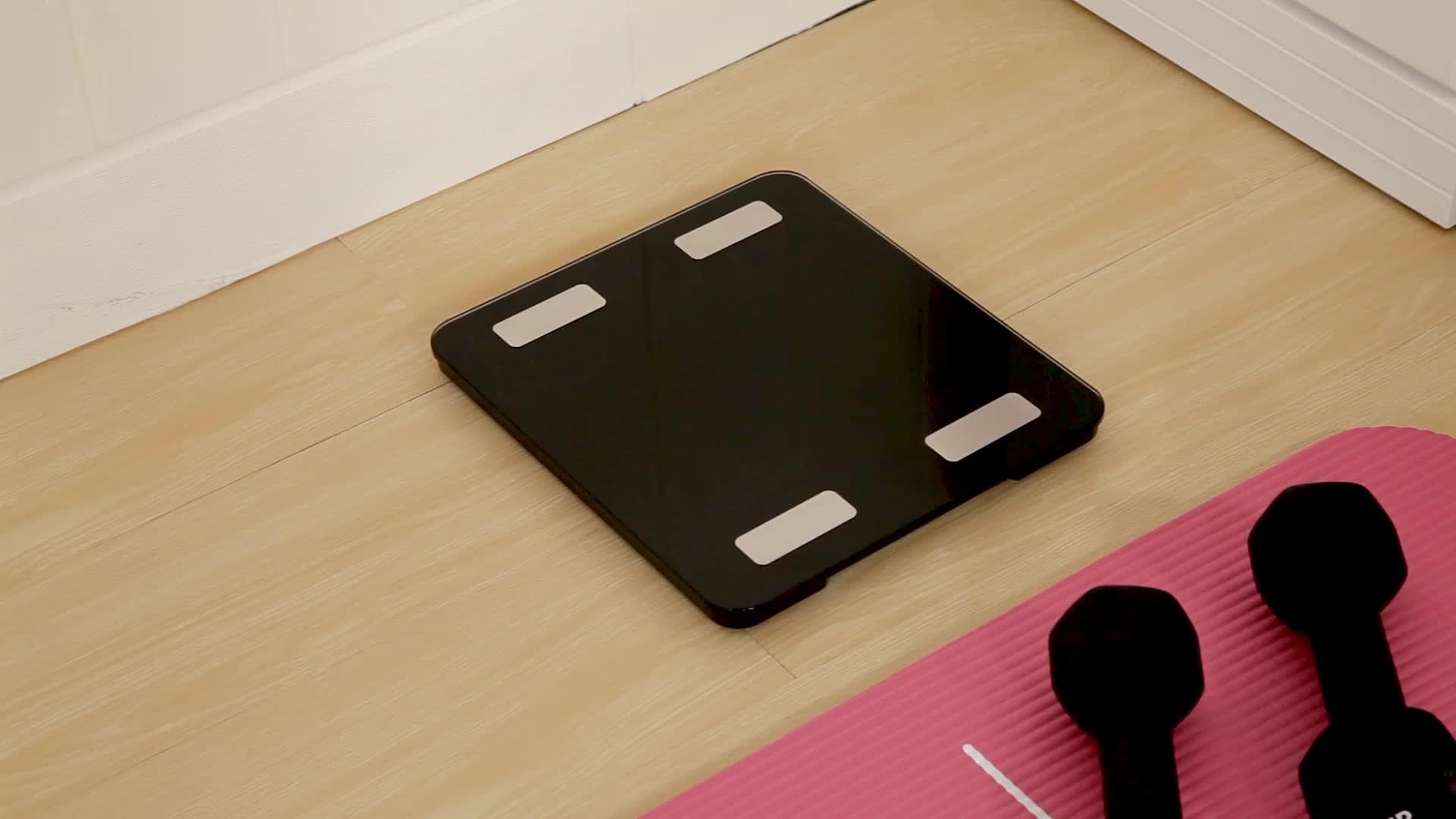 Kamar Mandi Digital Skala BMI Smart Berat Badan Komposisi Analyzer Bluetooth Smart Digital Tubuh Lemak Skala