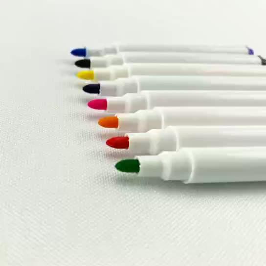 Permanent fabric marker pen marker multi-color