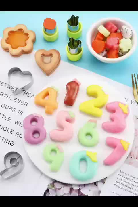 Amazon Vegetable Cutter Shapes Set Mini Pie Cookie Stamps Mold Cookie